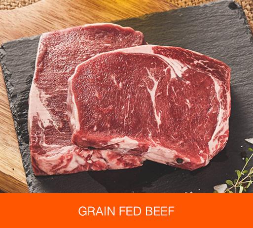 GRAIN FED BEEF